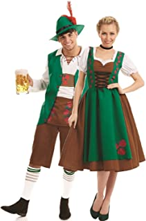 Couples Ladies and Mens Traditional Bavarian German Oktoberfest Beer Festival Carnival Fancy Dress Costumes Outfits