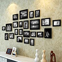 Painting Mantra 1 Art Street Photo Frame Set (Black) -23 Pieces