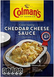 colmans cheese sauce mix