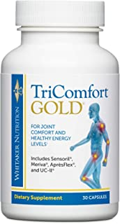 Dr. Whitaker's TriComfort Gold Supplement Delivers Ashwagandha for Powerful Joint Health, Energy and Mood in Just One Smal...