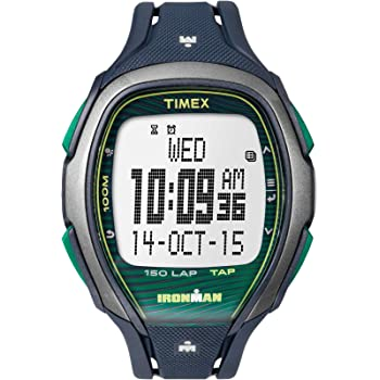 Timex Ironman Sleek Grey Dial Plastic Strap Unisex Watch TW5M09800