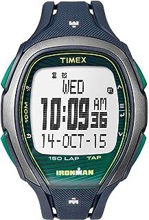 Ironman Sleek Grey Dial Plastic Strap Unisex Watch TW5M09800