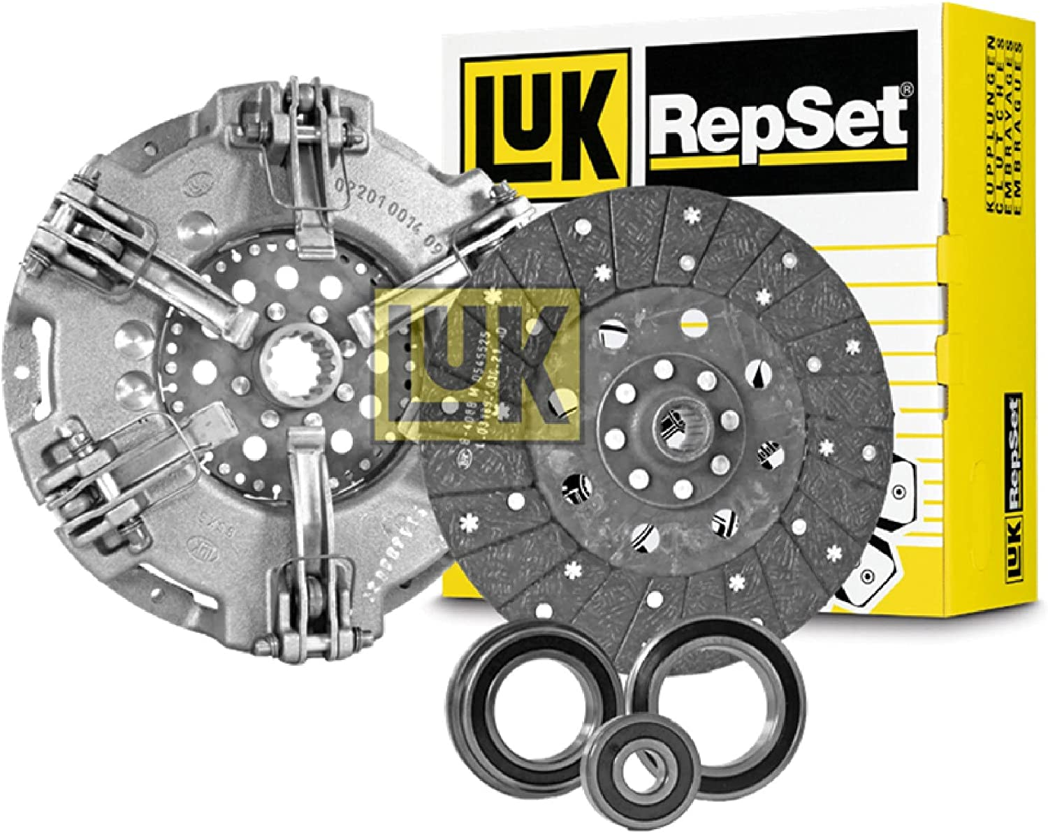 Complete Tractor 100% quality warranty New 1112-6173 LuK For Seattle Mall Kit Clutch Fo Replacement