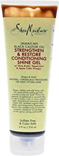 Shea Moisture Jamaican Black Castor Oil Strengthen and Grow Conditioning Shine Gel by Shea Moisture for Unisex - 8, 236 ml