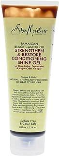 Shea Moisture Jamaican Black Castor Oil Strengthen & Grow Conditioning Shine Gel for Unisex, 8 Ounce