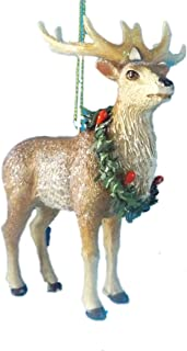 Best deer with wreath around neck Reviews