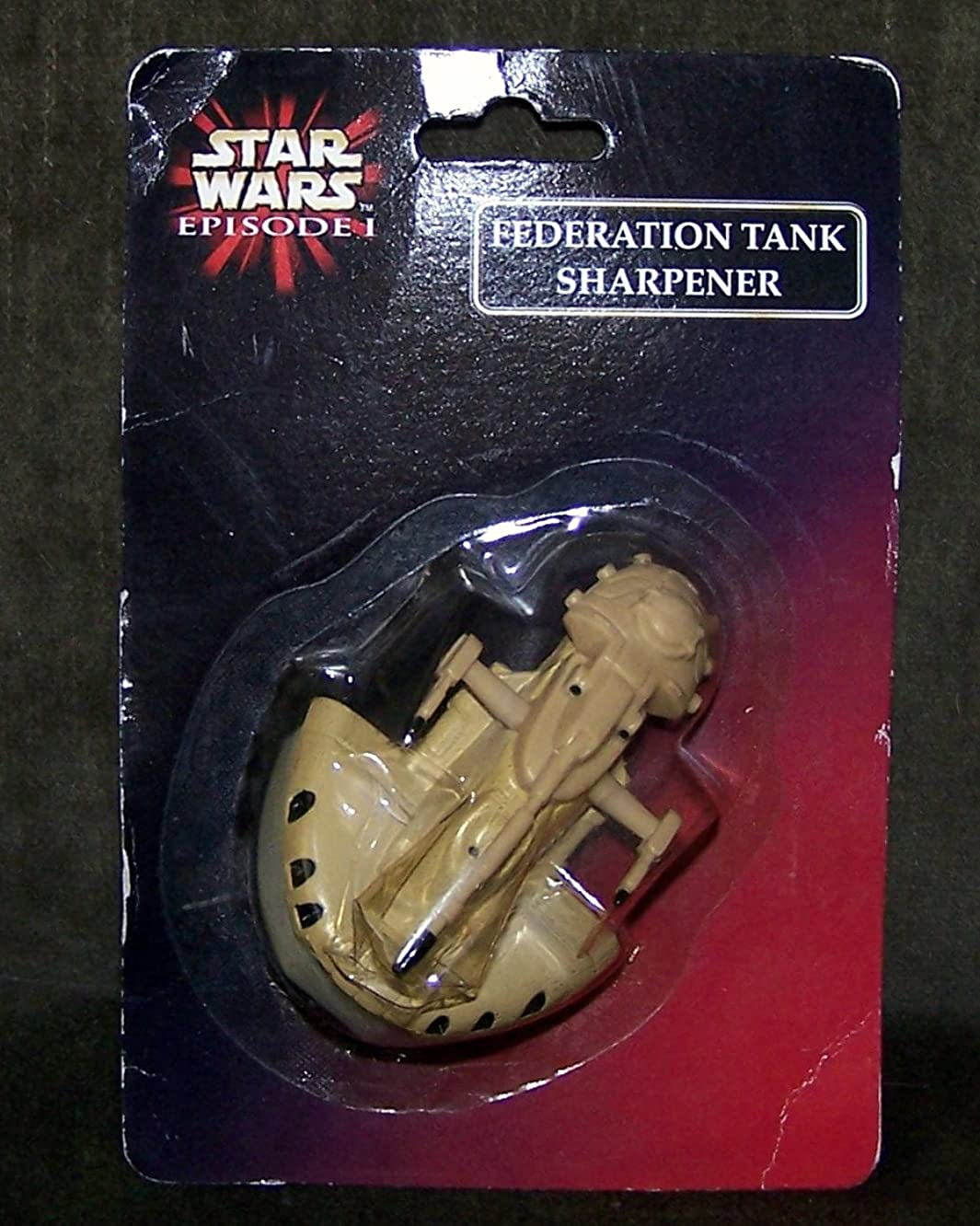 Stars Wars Episode 1 Federation Tank Pencil Sharpener