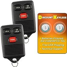 $24 » For 94-99 Ford Mercury Keyless Entry Remote Key Fob 3btn 3165189 GQ43VT4T F6UZ-15K601-AB - 2 PACK