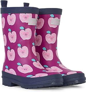 Printed Wellington Rain Boots, Botas de Agua para Niñas