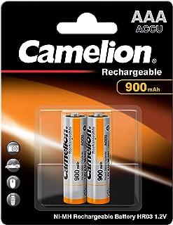 Camelion Micro AAA Digital Spezial Akku NiMH 900mAh schnellladefähig, 2er Blister (2 Stück)