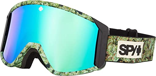 Kush - Hd Bronze w/ Green Spectra Mirror + Hd Ll Persimmon