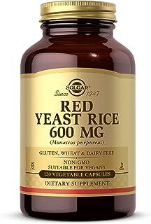 Solgar – Red Yeast Rice, 120 Vegetable Capsules