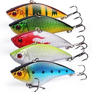 Sougayilang Fishing Lures Large Hard Bait Minnow VIB Lure...