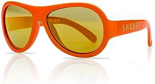 SHADEZ - Gafas de sol, color naranja junior 3-7 años