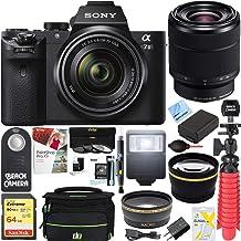 Sony a7 II Mirrorless E-Mount Alpha Camera with Full Frame Sensor and FE 28-70mm F3.5-5.6 OSS Lens SEL2870 + 64GB SDXC Mem...