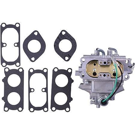 Wolfgo Carburetor for Kawasaki-TD33 Carburetor AY Float for Kawasaki TD40 TD43 TD48 CG400 Kaaz Trimmer Replacement