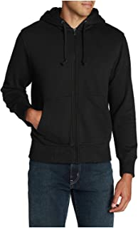 Men's Cascade Falls Sherpa-Lined Hoodie, Black Regular M
