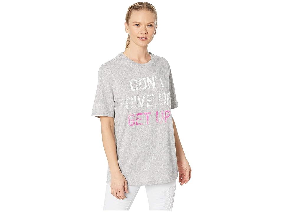 New Balance Komen Graphic Heathertech Tee (Pink Glo) T Shirt