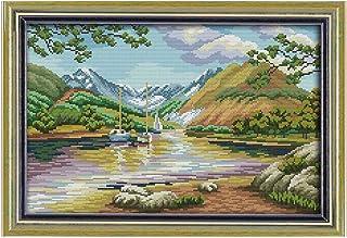 Cleana Arts Kreuzstich-Kits, Zeit schätzen, 11CT Gezählt70cm×54cm