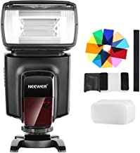 Neewer TT560 Flash Speedlite with 12 Color Filters and Hard Diffuser Kit for Canon Nikon..