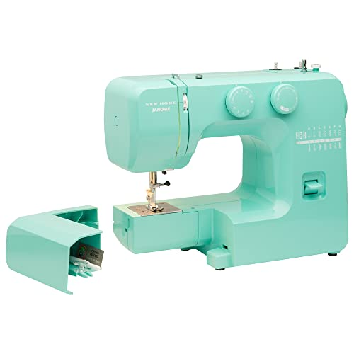 96ffa1bb20f859 Janome Arctic Crystal Easy-to-Use Sewing Machine with Interior Metal Frame,  Bobbin