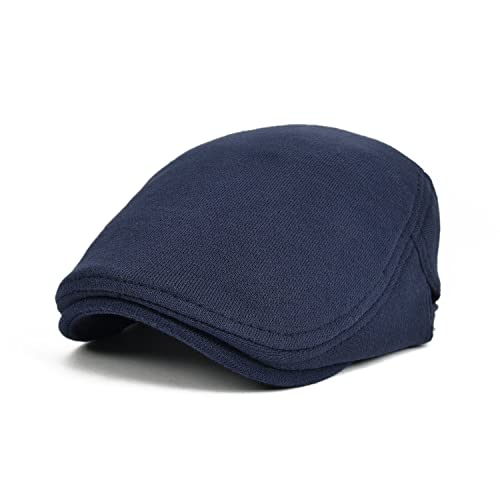 5dfe2383 VOBOOM Men's Cotton Flat Ivy Gatsby Newsboy Driving Hat Cap 039
