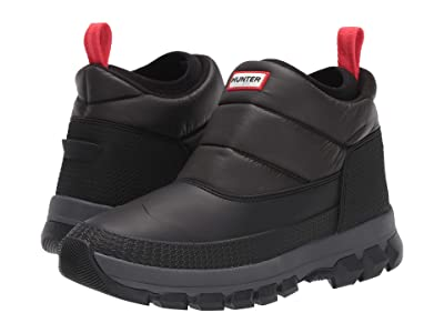 Hunter Original Insulated Snow Ankle Boot (Black) Men