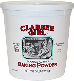 Clabber Girl Baking Powder 5lb tub