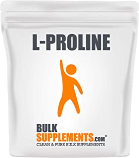 BulkSupplements L-Proline Powder (250 Grams)