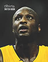 Sketch Book: Lamar Odom Sketchbook 129 pages, Sketching, Drawing and Creative Doodling Notebook to Draw and Journal 8.5 x 11 in large (21.59 x 27.94 cm)
