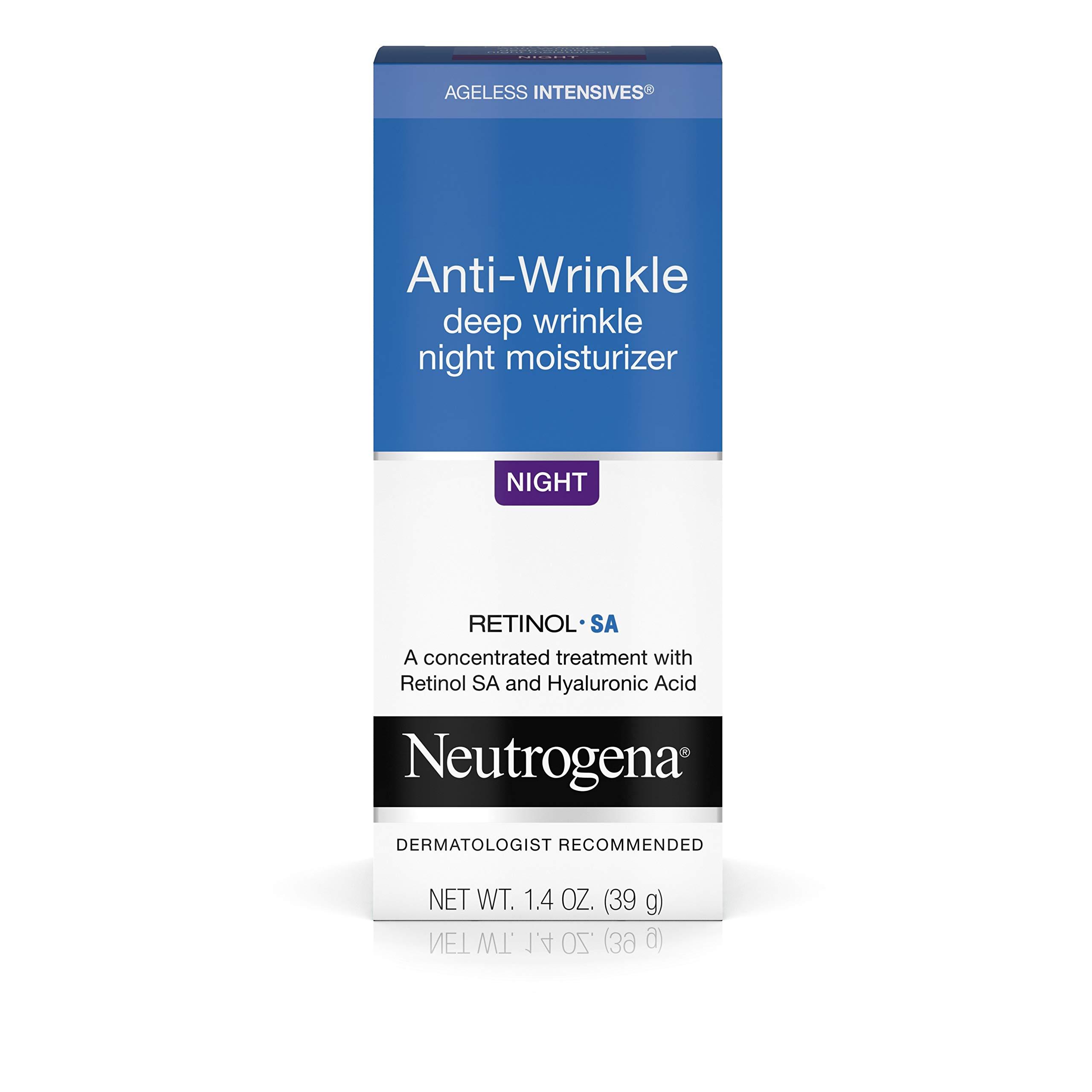 Neutrogena Intensives Anti Wrinkle Moisturizer Hyaluronic