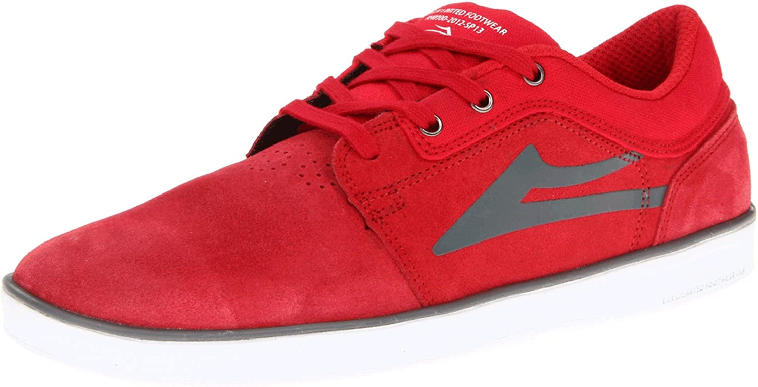 Lakai Howard Red Suede shoes
