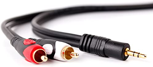 DURAGADGET Cable De Audio Compatible con Portátil Apple MACBOOK Air (2020) - Bañado En Oro