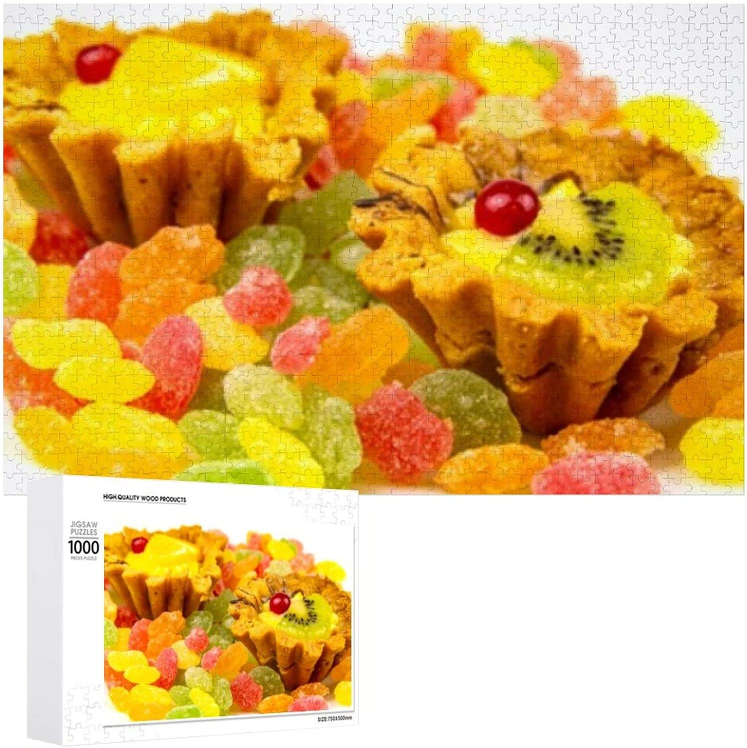 Dessert Sand Save money Basket Fruits Red - Puzzles for 1000 Adults Jigsaw Weekly update