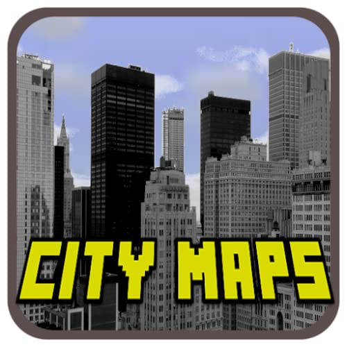 New Maps: City Map For Minecraft PE