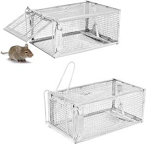 Havahart 1062 Easy Set Two Door Cage Trap