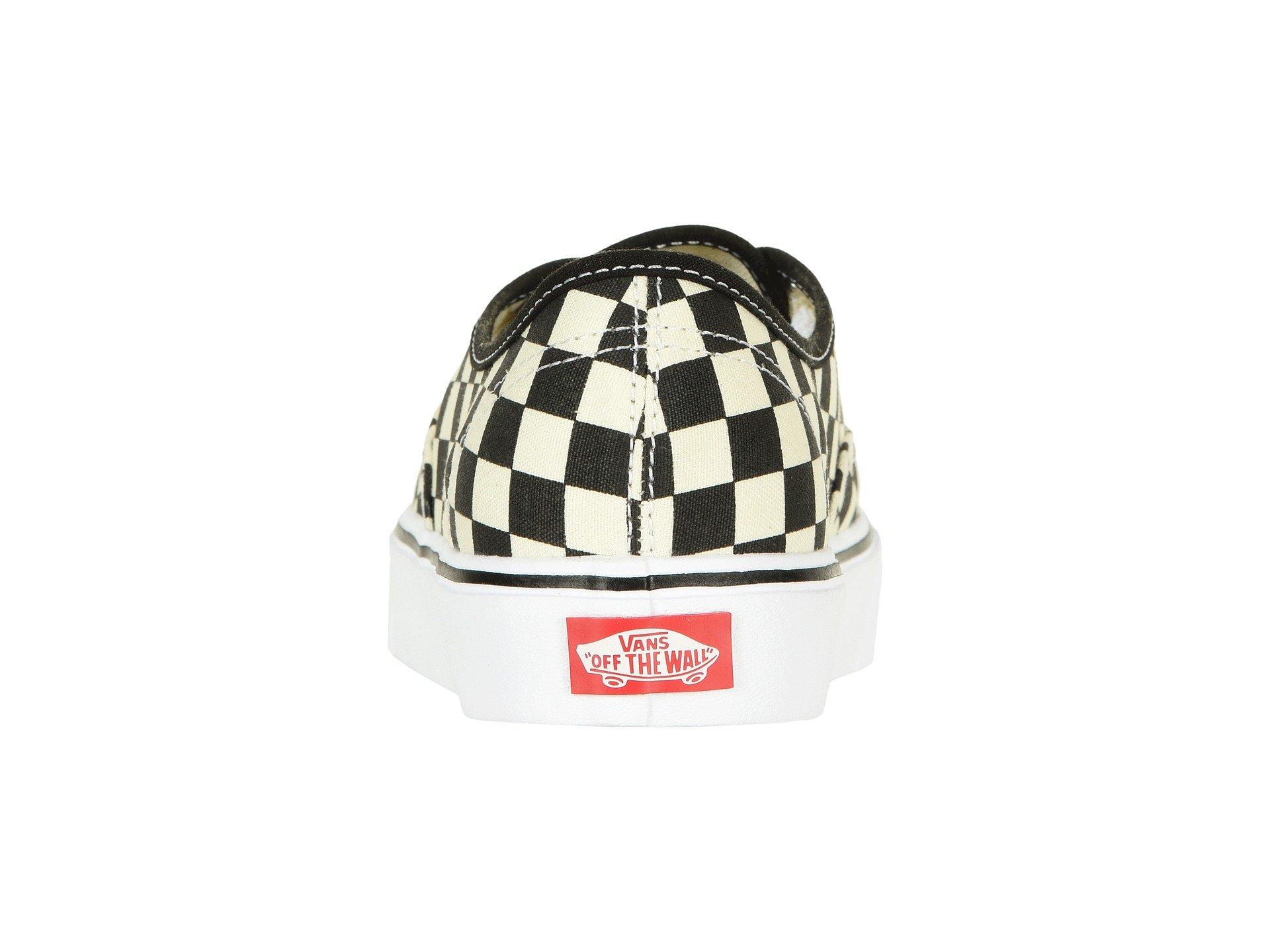 Black Vans Authentic Lite checkerboard white Sqtfgw