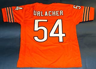 BRIAN URLACHER ORANGE CHICAGO CUSTOM STITCHED NEW FOOTBALL JERSEY MEN'S XL
