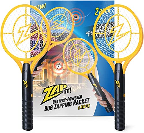 wholesale Zap It Bug Zapper Battery wholesale Powered (2xAA Included) Bug 2021 Zapper Racket, 3,500 Volt, 2 Pack online
