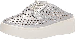 Anne Klein Women's Tricia Sneaker, Silver, 9