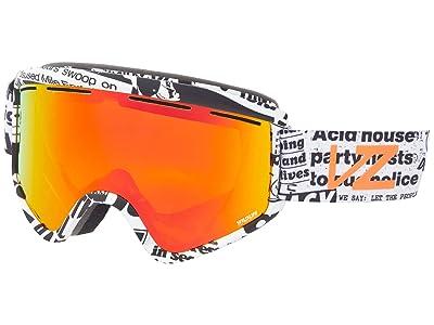 VonZipper Cleaver (House Riot Satin/Wildlife Fire Chrome) Goggles