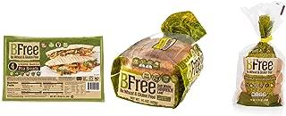 BFree Gluten Free Bread Variety Pack: Plain Bagels, White Bread, Stone-Baked Pita (3 Packs Total)