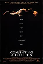 CONSENTING ADULTS - 27x40 D/S Original Movie Poster One Sheet 1992 Kevin Kline