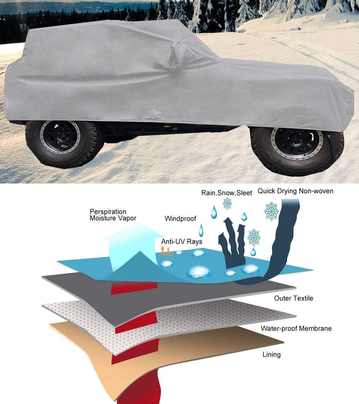 Exterior Accessories iiSPORT Heavy Duty 5-Layer Waterproof SUV ...