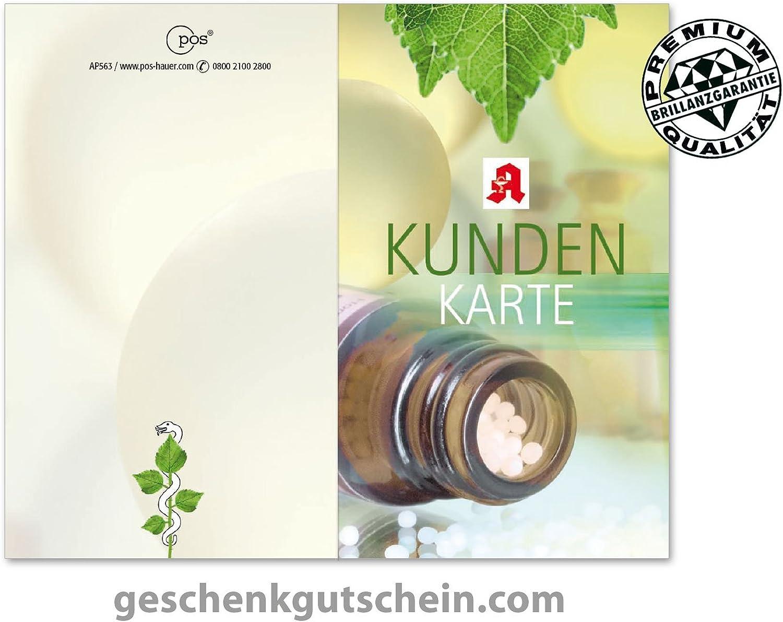 200 Stk. Kundenkarten für deutsche Apotheken AP563 B06XGLY72M | Good Design