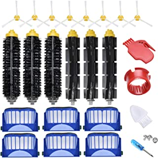 Best JoyBros 22-Pack Replacement Parts Compatible for iRobot Roomba Accessories 600 Series:690 670 671 680 650 630 614 595 585 Filter Side Roller Brush Vacuum Cleaner Replenishment Kit Review