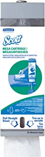 "Scott Mega Cartridge Napkin Dispenser System (09023), for Scott Disposable Paper Napkins, 8"" x 22.6"" x 5.7"", 1 Kit/Case"