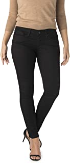 Signature by Levi Strauss & Co. Women's Low Rise Jeggings with Super Stretch Denim (Black Night Sky)