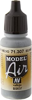 Vallejo Bs Medium Sea Grey 17ml Paint