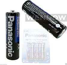 1 Pack (4 Pcs) Panasonic Super Heavy Duty AA Carbon Zinc Batteries